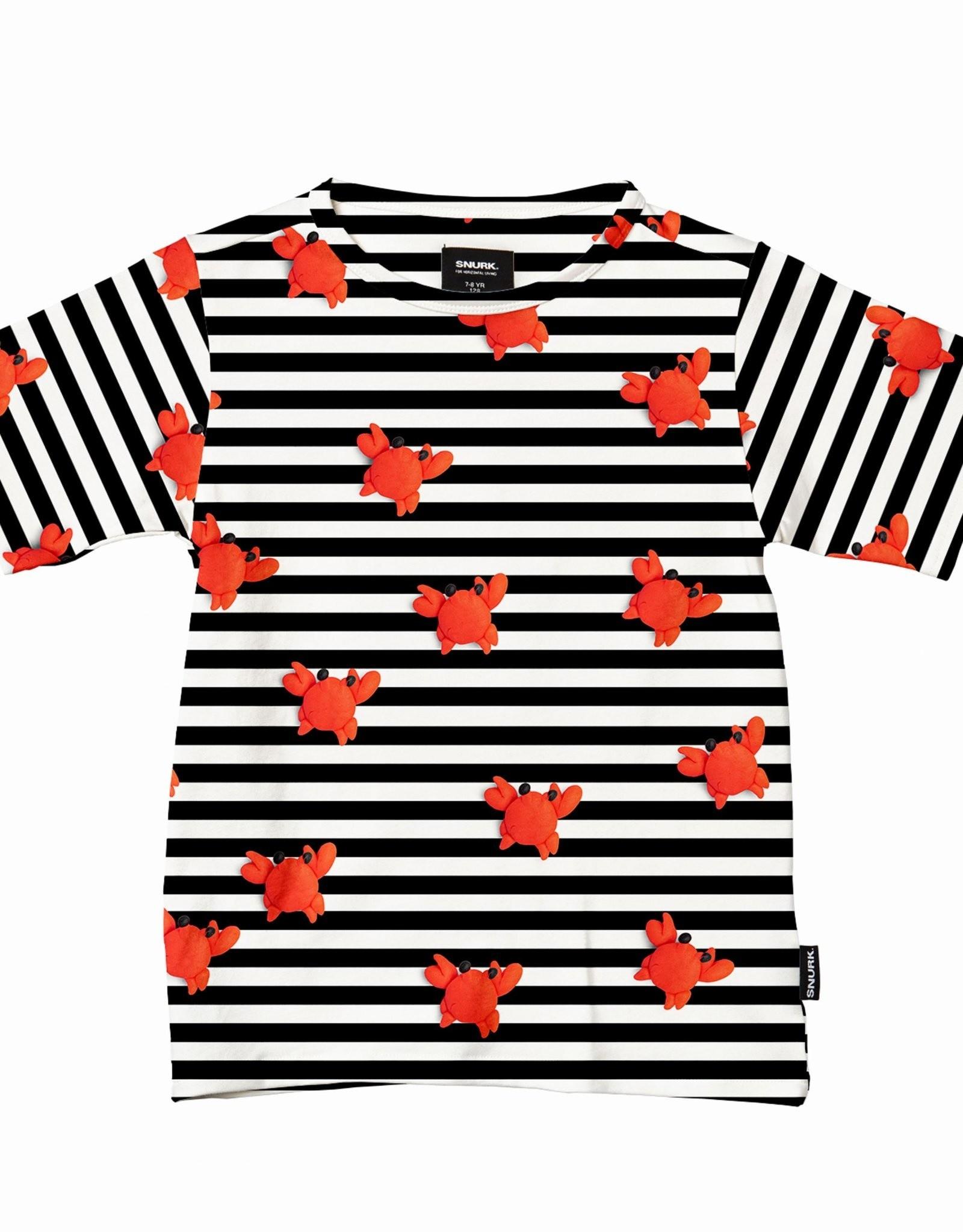 Snurk Snurk Clay Crab T-shirt Kids