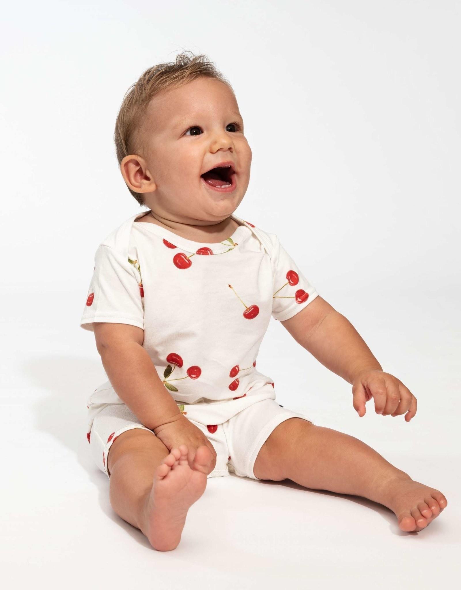 Snurk Snurk Cherries Playsuit Babies