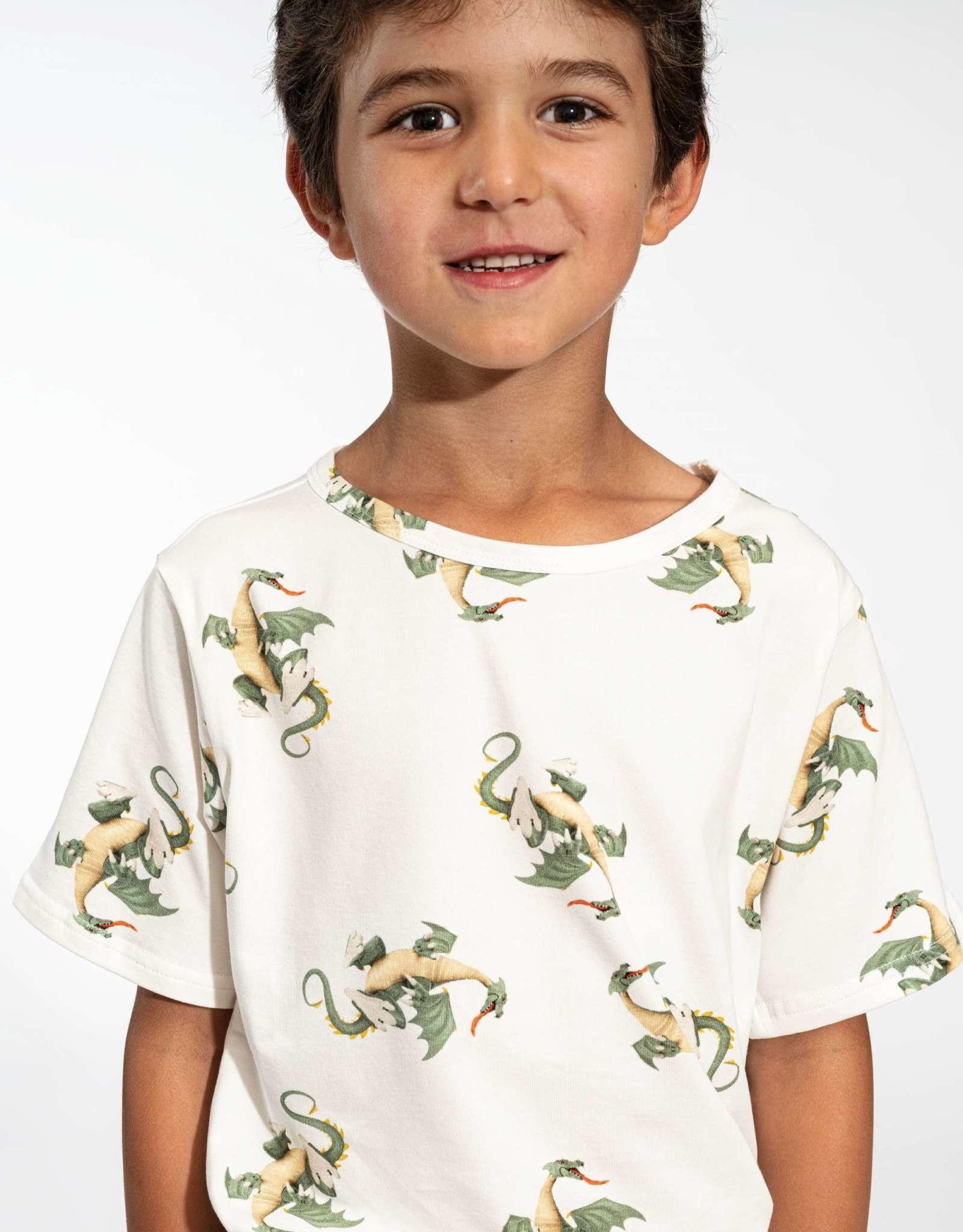 Snurk Snurk Dragon T-shirt Kids
