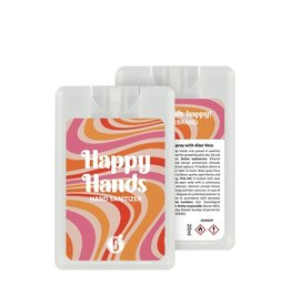 Bubbles The Brand Happy hands desinfectie spray Stripe Vibe