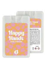 Bubbles The Brand Happy hands desinfectie spray Pink Leopard