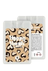 Bubbles The Brand Happy hands desinfectie spray Lovely Leopard