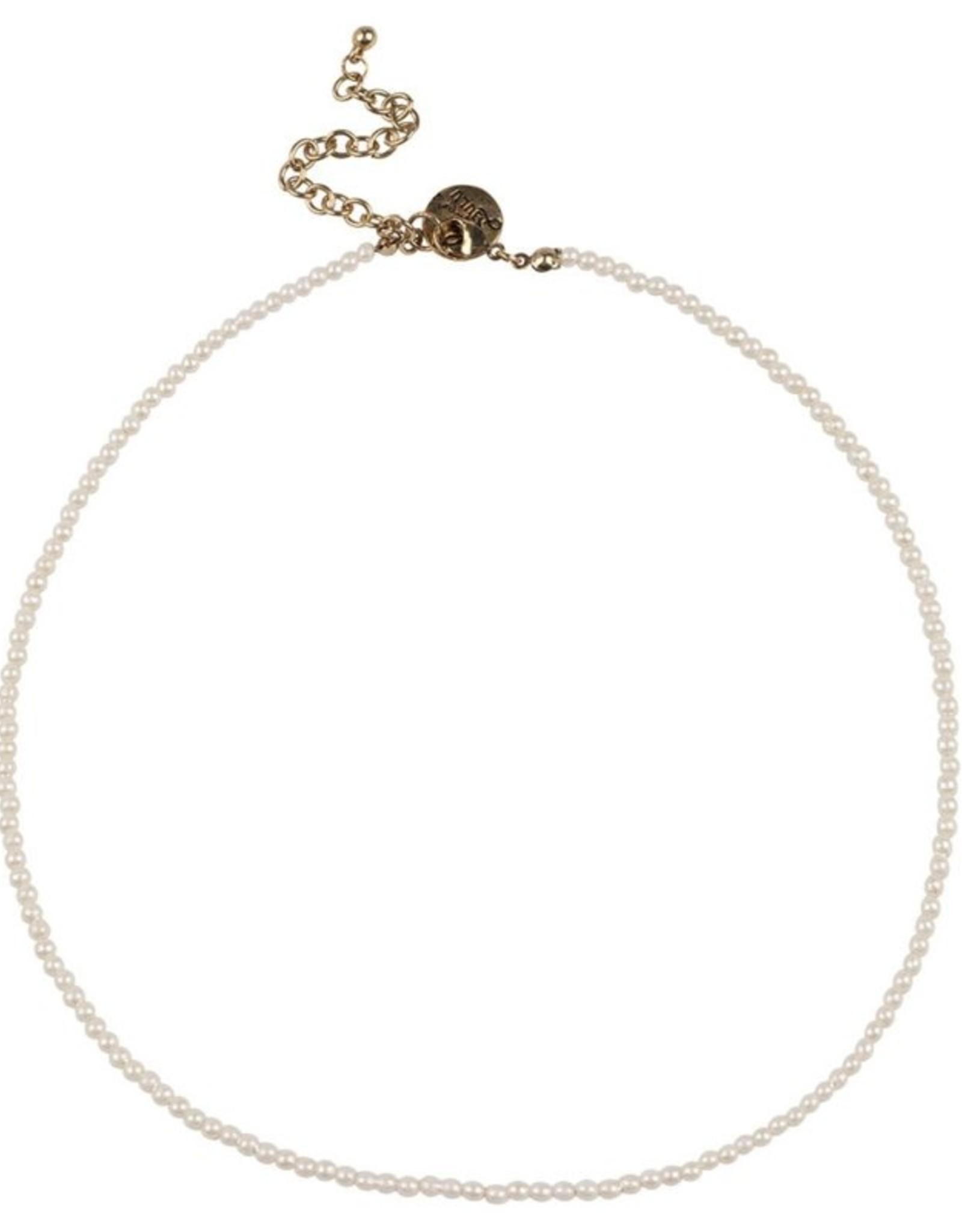Bulu Bulu Happy Beads Necklace pearl
