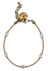 Bulu Bulu Happy Beads Bracelet pearl Pink