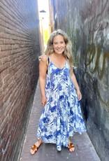 Slip dress Anouk Blauw
