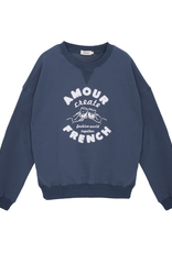 Oversized Sweater Amour French