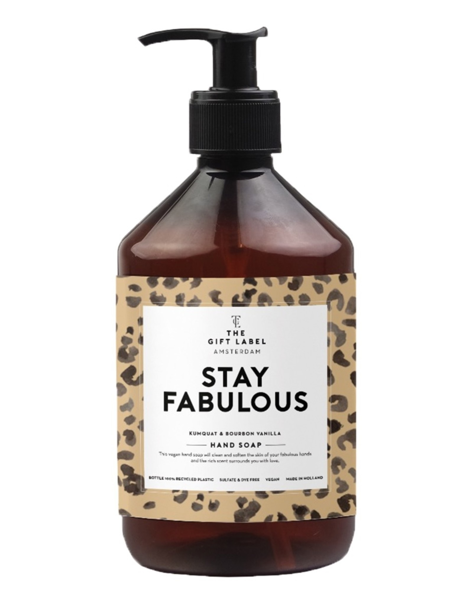 The Gift Label The Gift Label Handsoap Stay Fabulous