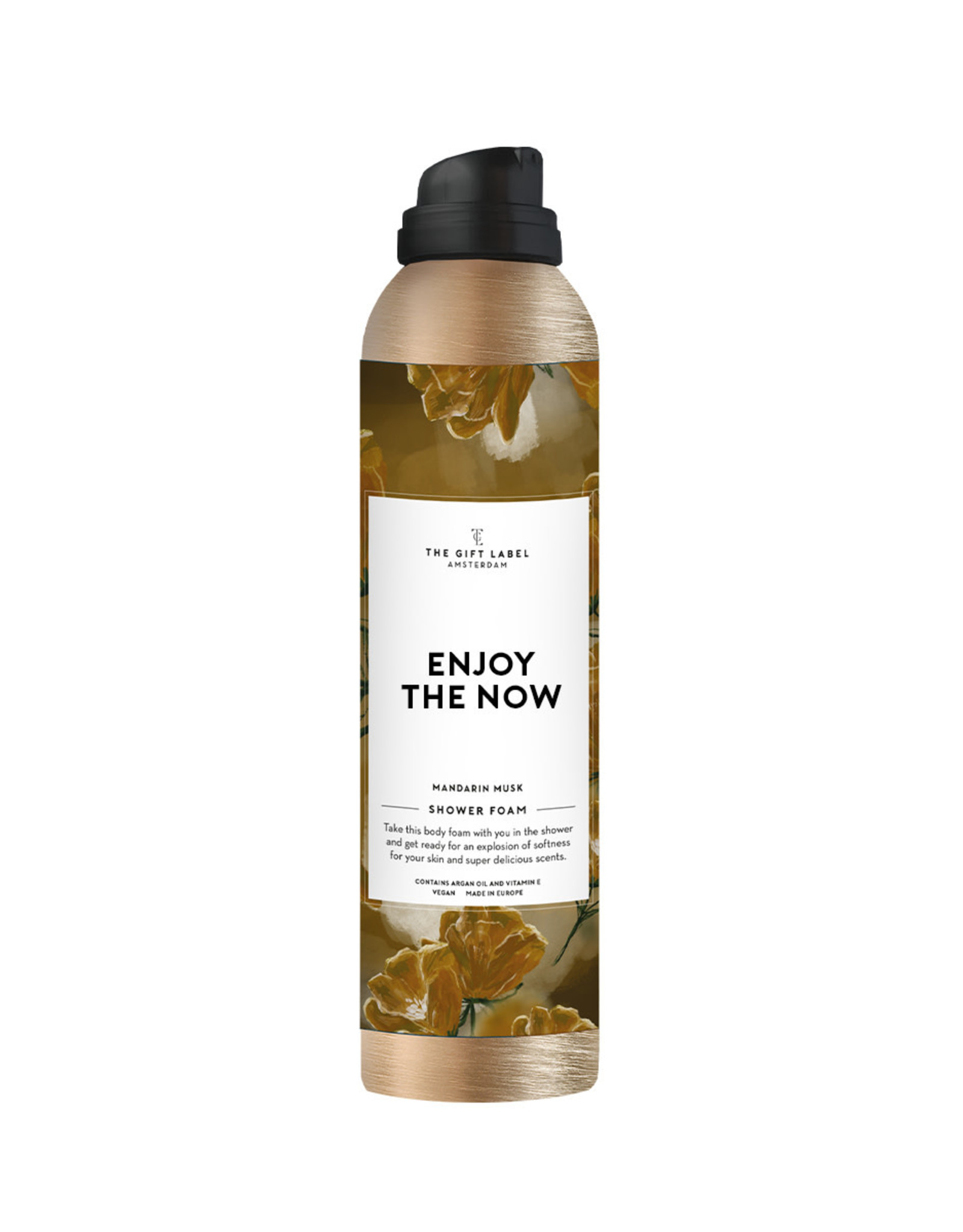 The Gift Label The Gift Label Shower Foam Enjoy the now