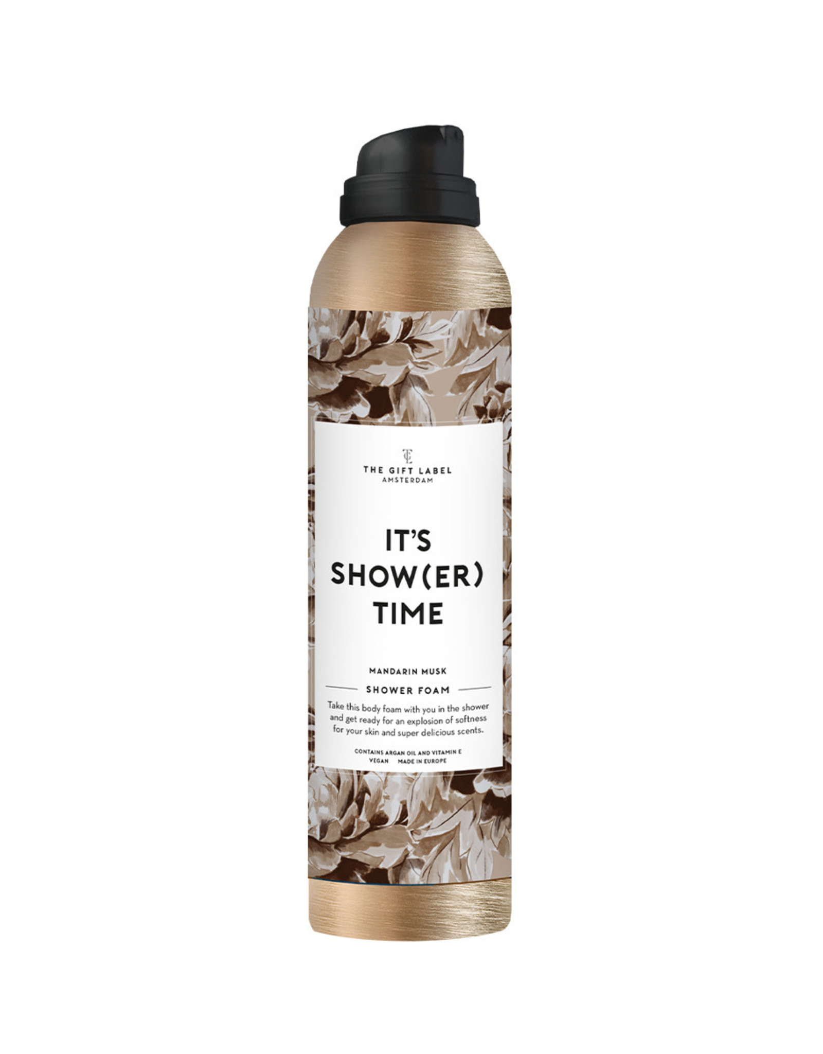 The Gift Label The Gift Label Shower Foam Its show time