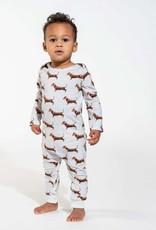 Snurk Snurk Jumpsuit babies James Grey