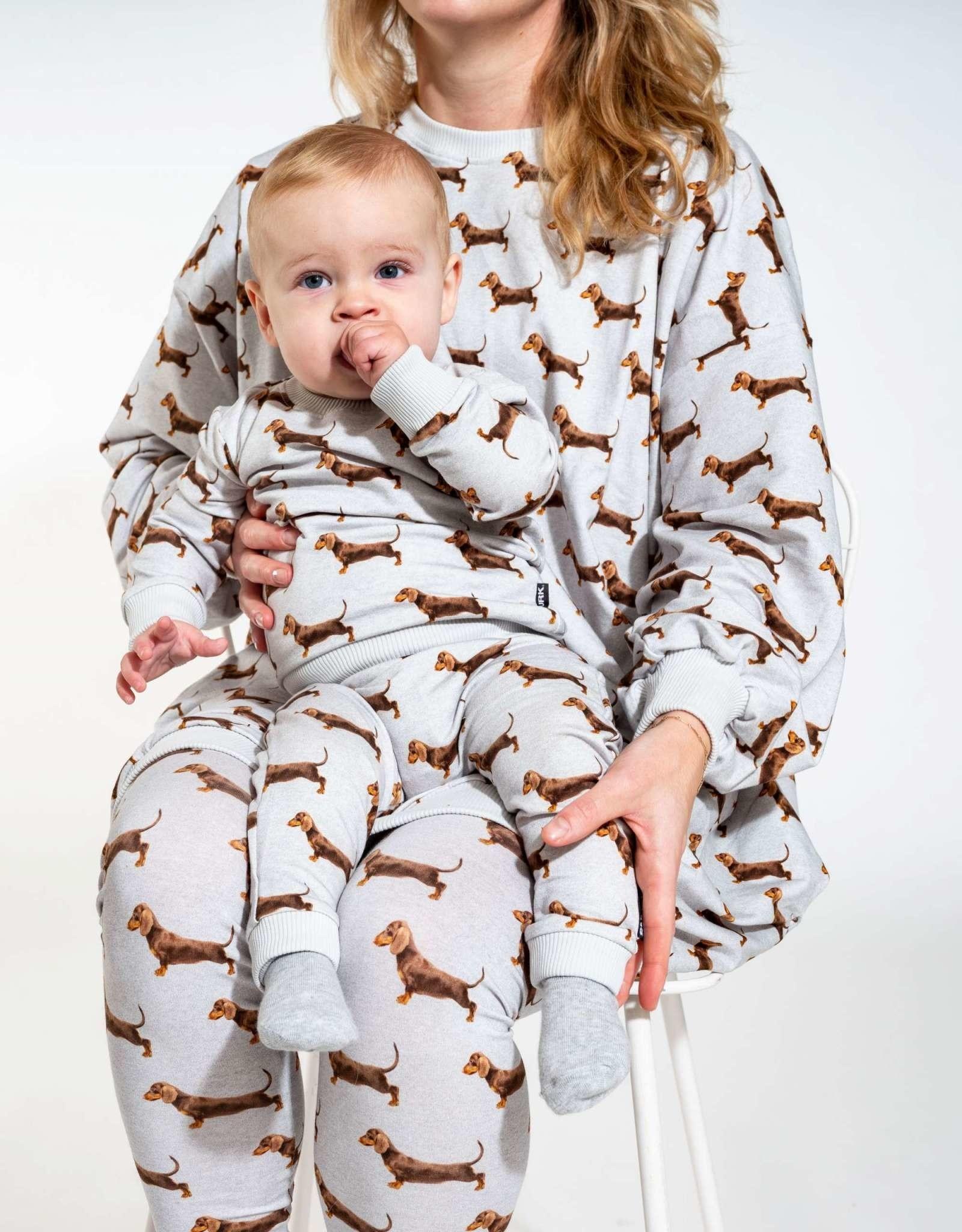 Snurk Snurk Sweater Babies James Grey