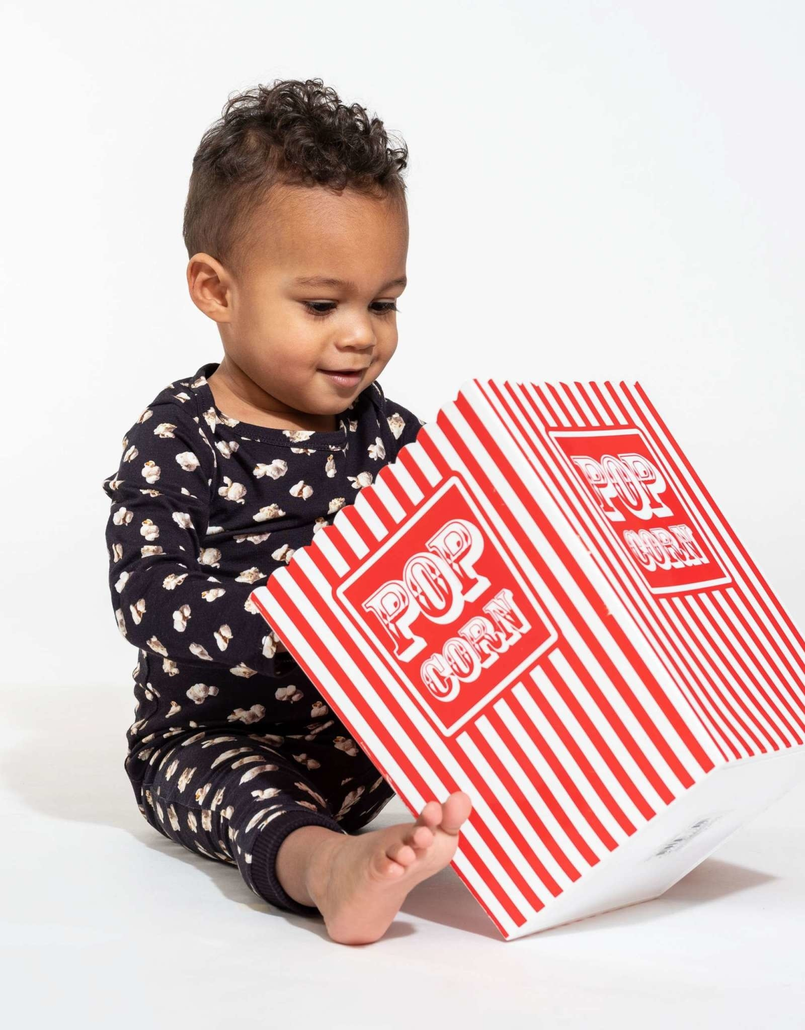 Snurk Snurk Jumpsuit babies Popcorn Polka