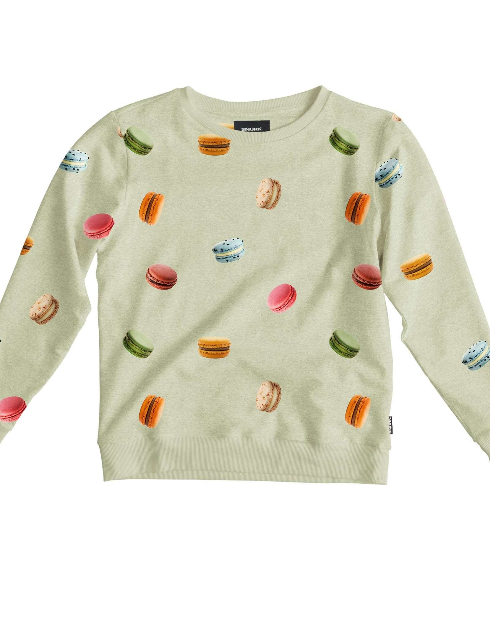 Snurk Snurk Sweater Woman Macarons Green