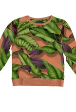 Snurk Snurk Sweater Woman Fresh Leaves