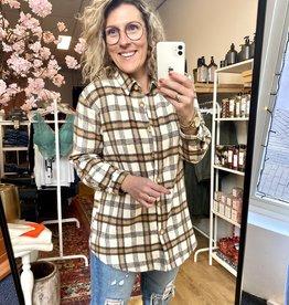 Rut & Circle Rut & Circle Frida Check Shirt