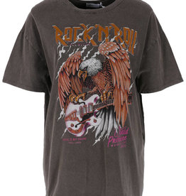 Azurro T-shirt Eagle Grijs