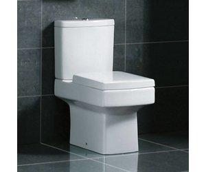 Evogue staand dual flush toilet compleet met spoelbak en softclose