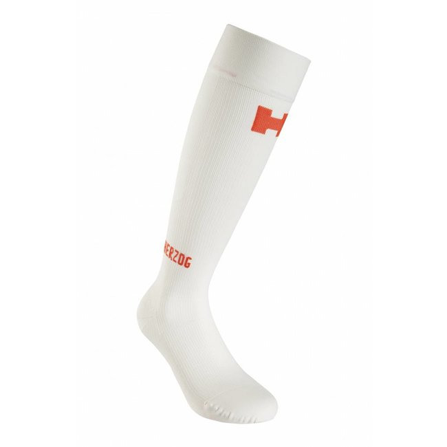 HERZOG PRO Compression stockings White