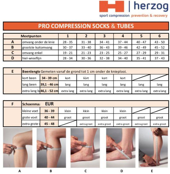 Herzog Pro Compression Stockings Support Your Legs During Exercise
