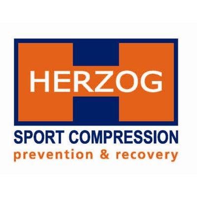 HERZOG PRO Compression stockings Blue