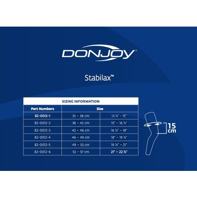 DJO Global  Donjoy Stabilax