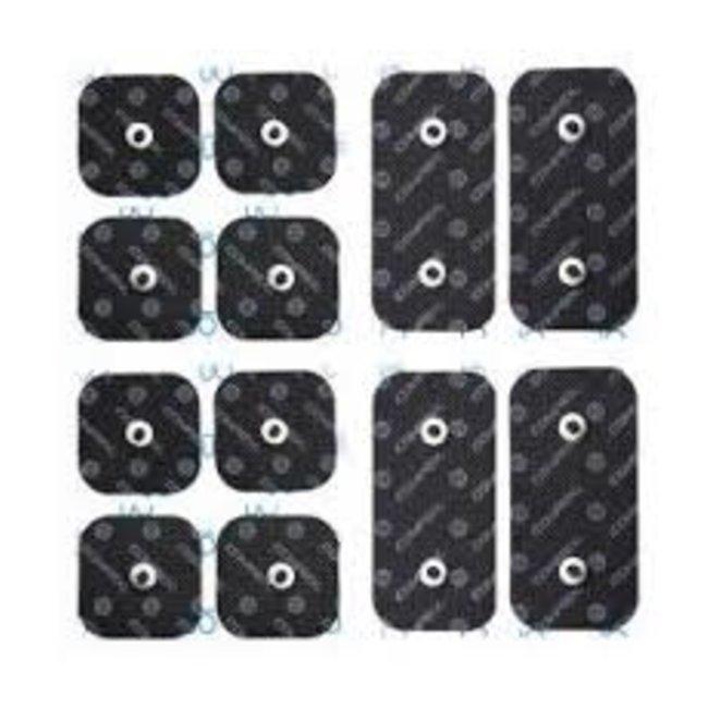 Compex Compex Pack Elektroden 2x1 snap performance 5x5cm & 5x10cm