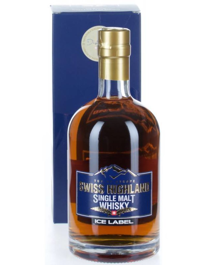 Rugen Swiss Highland Single Malt Ice Label