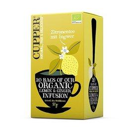 Cupper Tea CUPPER Zitronentee mit Ingwer