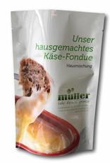 müller - lebe deinen genuss  Hausgemachtes Käse-Fondue für 1 Personen
