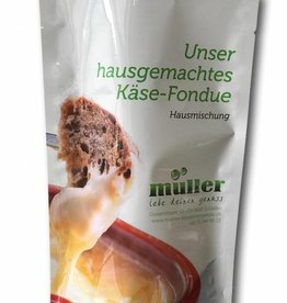müller - lebe deinen genuss Hausgemachtes Käse-Fondue für 6 Personen