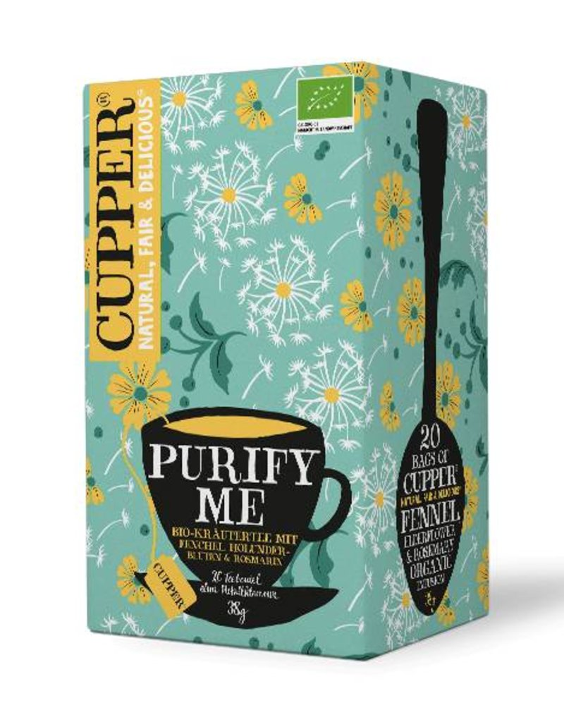 Cupper Tea CUPPER PURIFY ME Kräuterteemischung