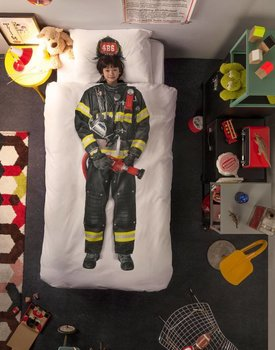 Snurk Dekbedovertrek Firefighter