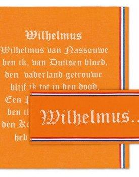 Keukenset Wilhelmus Oranje 1 keukendoek 2 theedoeken