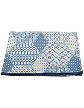 David Fussenegger Luca plaid Africa jeans/blau 140/200