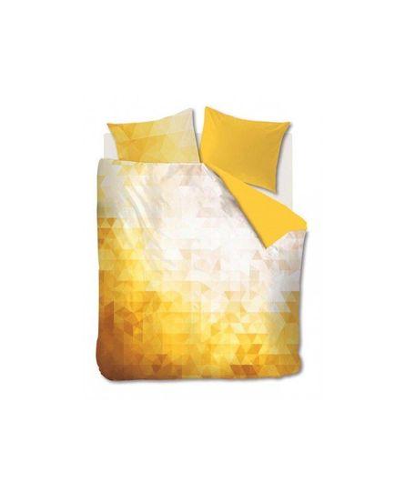 Auping Fragment Yellow Dekbedovertrek 200-200/220