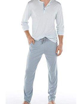 Calida men pyjama 41169 lichtblauw