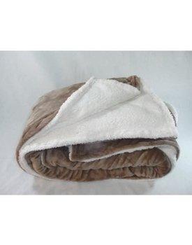 Unique Living plaid fleece / Lammy