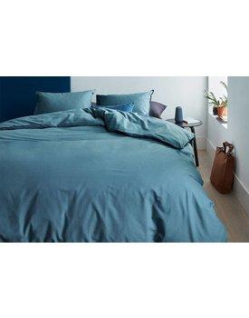 Beddinghouse dekbedovertrek Basic Bluegrey