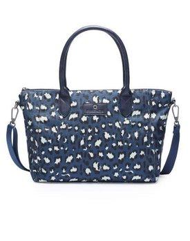 Essenza carry-all tas Jennah blue medium