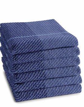 DDDDD Keukendoek Blend 50x55 violet blue