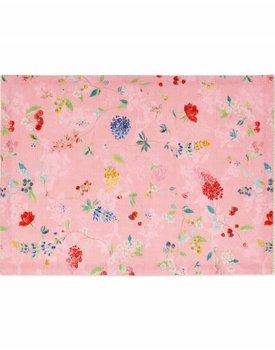 Pip Studio theedoek Hummingbirds Pink 50x70cm