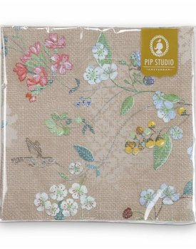 Pip Studio servetten Hummingbirds Khaki
