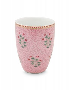 Pip Studio drinkbeker Floral Good Morning Pink
