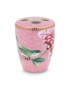 Pip Studio tandenborstel houder Floral Good Morning Pink