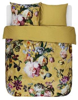 Essenza Fleur Dekbedovertrek Golden Yellow