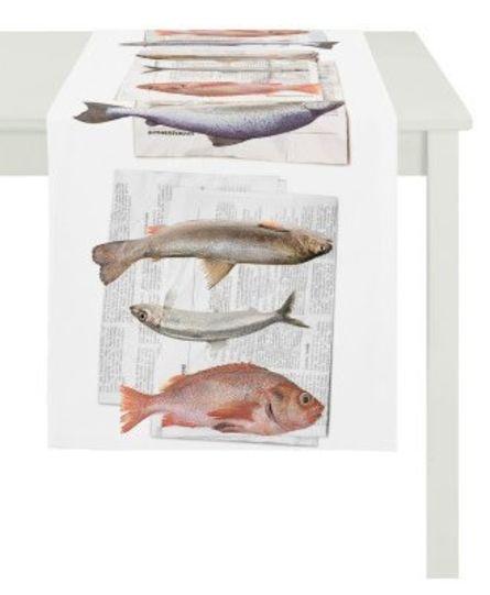 Apelt Tafelloper Vissen 48x135 cm