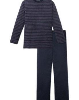 Schiesser heren pyjama 164282 rood lang