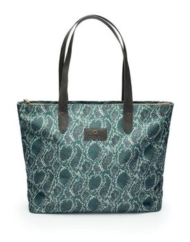 Essenza shopper Lynn Solan green