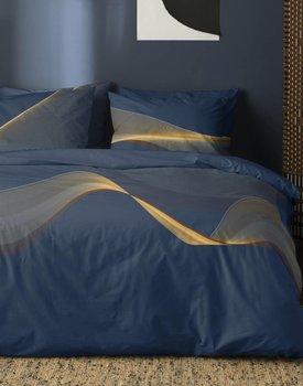 Damai Dekbedovertrek Curve Royal Blue