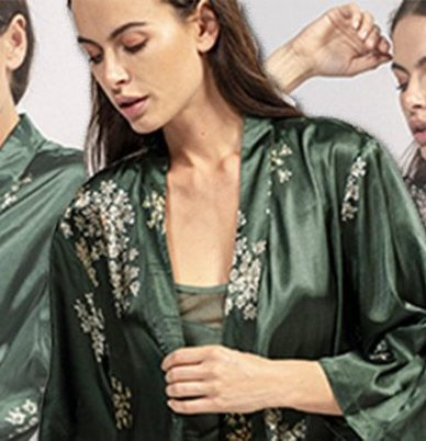 Kimono's: dé badjassen trend
